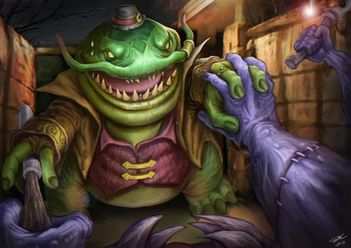Tahm Kench, Stitches by C-shy