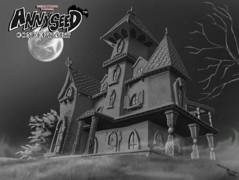 Annyseed Mansion Painting by MirrorwoodComics
