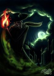 Skulduggery Pleasant by KatRoart