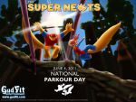 The Super Newts Parkour Day by GudFit