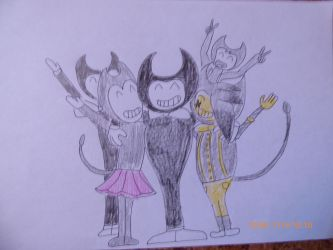 Bendy and friends by balint2002