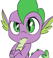 Sparkle - Spike (ANIMATED GIF) by EMositeCC
