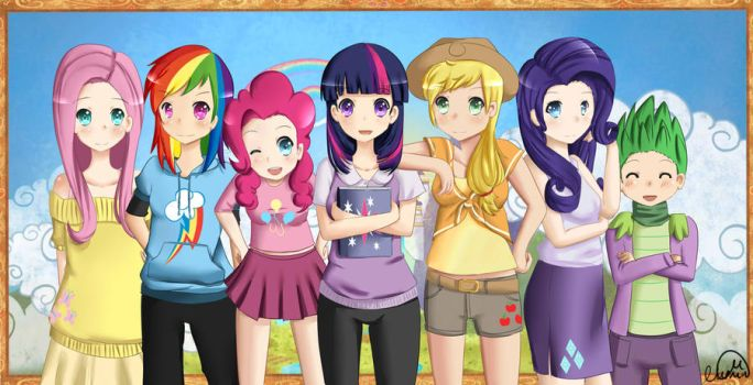 My Little Pony: Friendship is Magic by NoirinMarudon