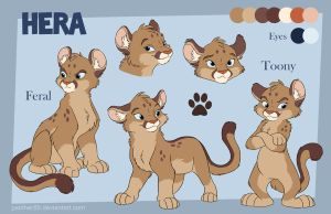 Hera Reference Sheet by Panther85