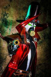 Steampunk Spawn by aestheticreations