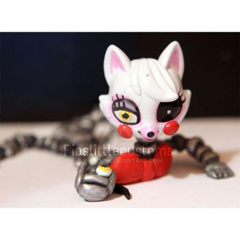 Broken Mangle from FNAF2 inspired LPS custom by pia-chu