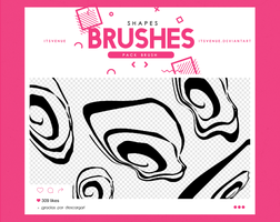 .shapes brushes #19 by itsvenue