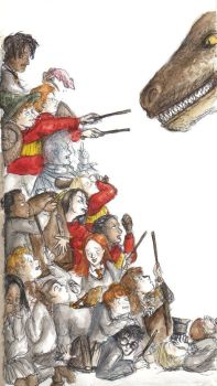 HP - mess with reptiles by LevyRasputin