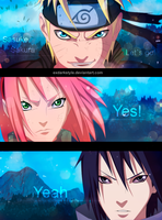 Team 7 epic moment by exdarkstyle