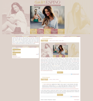 Ordered Gaby Espino Layout by Efruse