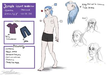 [updated Refsheet] Jonah Mallvieux by thedutchbrony