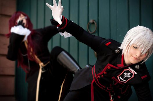 D. Gray Man  Idiot Apprentice ! by AtunaCosplay