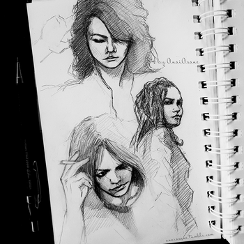 HYDE scetches  by AnaiAsane