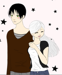 cute couple by cat55