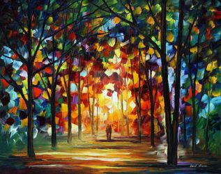 Celebration Of Colors by Leonid Afremov by Leonidafremov