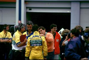 Michael Schumacher | Ayrton Senna (France 1992) by F1-history