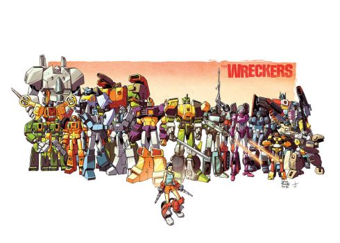 The Wreckers by dcjosh