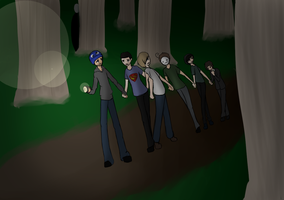 Slenderfriends by CaitlinBear