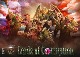 Lords of Corruption by LANZAestudio