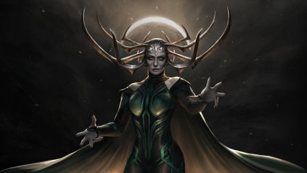 Hela - The Goddess of Death by IndahAlditha