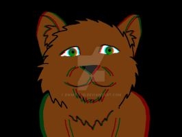 3D Bear! (From speed Art 2 on YouTube) by rwmtiger