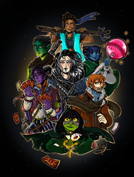 Critical Role Fanart by NellyOnly