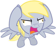 AAAAAHHHH!!! Derpy Vector by GreenMachine987