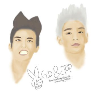 G-Dragon x T.O.P by vanvangmy