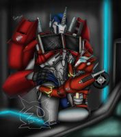 Come here Optimus my love! by ElitaOneArts