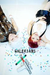 Galerians - Rita and RainHeart Cosplay by zzzzxx