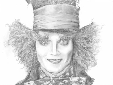 the mad hatter by beebecca213