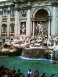 Italy - Trevi Fountain by shadowed-light-waves