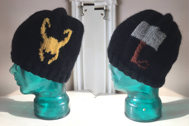 Thor and Loki Hat by holls