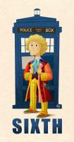 Sixth Doctor by Erich0823