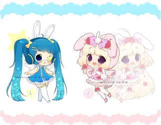 Collab Adopts with Valyriana by CakexChan