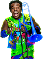 Xavier Woods New Day 2017 PNG by AmbriegnsAsylum16