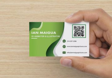 Ian Maigua Pictures Business Card by IanMaiguaPictures