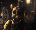 [Cinema4D FNaF] Golden Freddy by xXBeteNoireXx