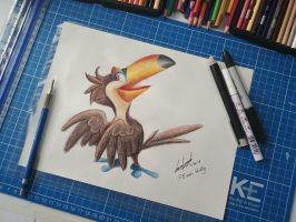 Toco Toucan by EinariHusky