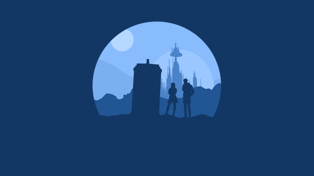 Minimalist Doctor Who by RubixCraft