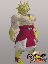 DBFZ Broly for XPS by KSE25