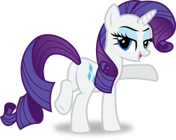 Rarity Livestream Vector by 8-Notes