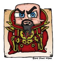 Ming the Merciless by stuartmcghee