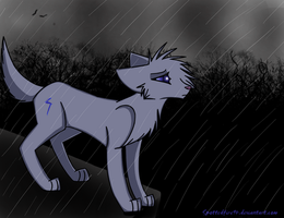 So stand in the rain, by Spottedfire94