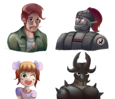 Busts by ChromeFlames