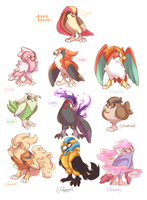 Pidgeot Variation - Pokemon