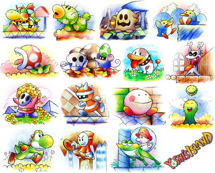 Yoshi's Island - Full Collection by NeoZ7