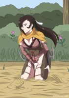 Kagero in Quicksand 03 by A-020