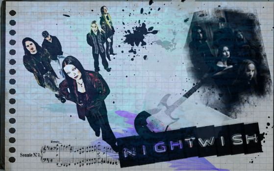 Nightwish Wallpaper 2 by the-never-fading