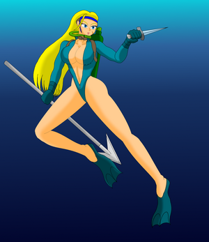 Commission: Scuba Cammy by NekoHybrid